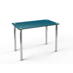 Стеклянный обеденный стол S1 1100*650 покраска - изображение 2 - интернет-магазин tricolor.com.ua