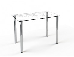 Купить Стеклянный обеденный стол S1 1100*650 покраска - 3