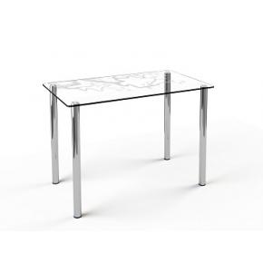 Стеклянный обеденный стол S1 1100*650 покраска - изображение 3 - интернет-магазин tricolor.com.ua