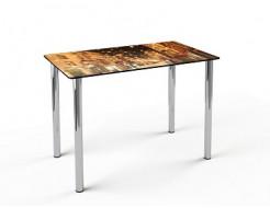 Купить Стеклянный обеденный стол S1 1100*650 покраска - 4