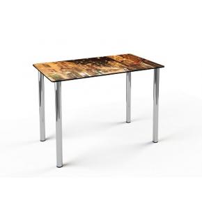 Стеклянный обеденный стол S1 1100*650 покраска - изображение 4 - интернет-магазин tricolor.com.ua