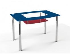 Купить Стеклянный обеденный стол S2 1200*750 покраска - 10