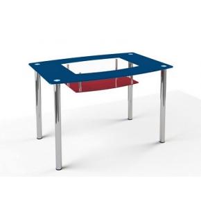 Стеклянный обеденный стол S2 1200*750 покраска - изображение 2 - интернет-магазин tricolor.com.ua