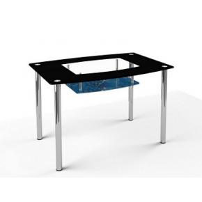 Стеклянный обеденный стол S2 1200*750 покраска - изображение 3 - интернет-магазин tricolor.com.ua
