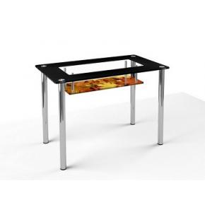 Стеклянный обеденный стол S2 1200*750 покраска - изображение 5 - интернет-магазин tricolor.com.ua