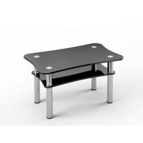 Стеклянный журнальный стол JTI 003 800*500 покраска