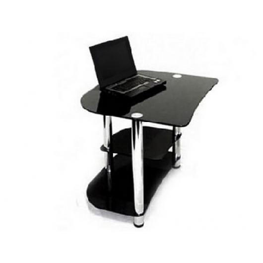 Стеклянный компьютерный стол P-2