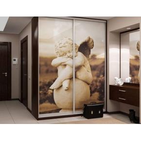 Двери для шкафа купе стекло с фотопечатью - изображение 2 - интернет-магазин tricolor.com.ua