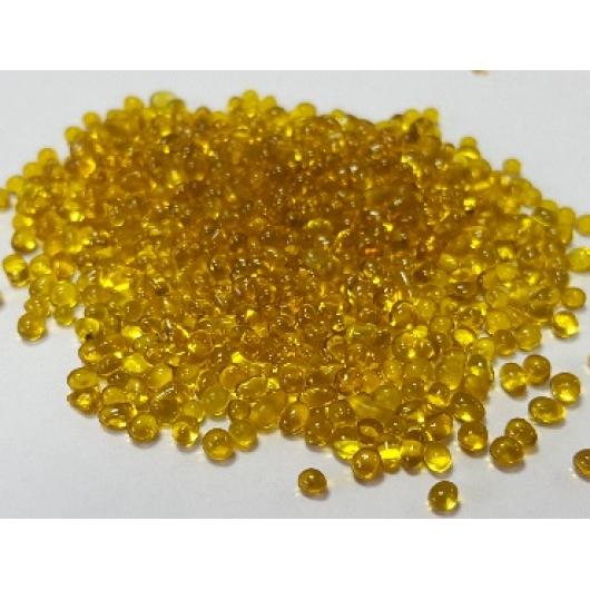 Декоративная стеклосфера желтая - изображение 2 - интернет-магазин tricolor.com.ua