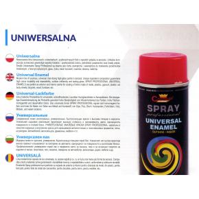Аэрозоль универсальный Champion 9017 черный глянцевый - изображение 4 - интернет-магазин tricolor.com.ua