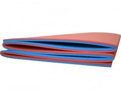 Коврик-каремат Izolon Tourist 8 складной красно-синий - изображение 2 - интернет-магазин tricolor.com.ua