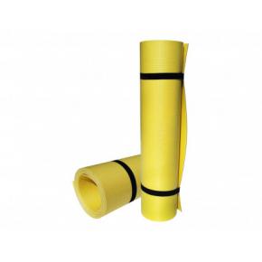 Коврик-каремат Izolon Yoga Asana 180х60 желтый - изображение 3 - интернет-магазин tricolor.com.ua
