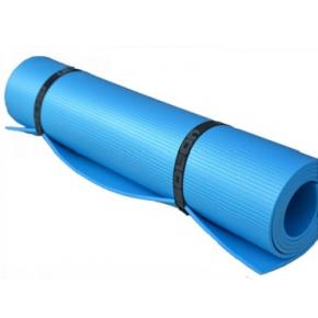 Коврик-каремат Izolon Yoga Master 180х60 синий - изображение 2 - интернет-магазин tricolor.com.ua