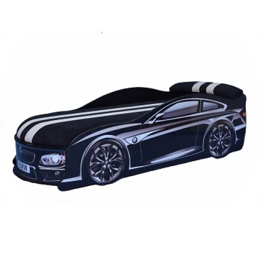 Кровать машина BMW черная 70х150 ДСП - интернет-магазин tricolor.com.ua