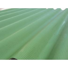 Шифер крашенный Зеленый 8 волновой
