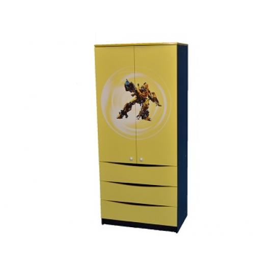 Шкаф желтый 50х80х182 ДСП