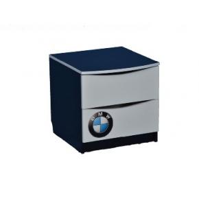 Прикроватная тумба белая BMW