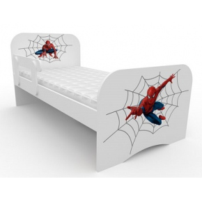 Кроватка стандарт Спайдермен 80х160 ДСП