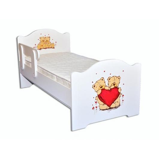 Кроватка эксклюзив Мишки 80х170 ДСП