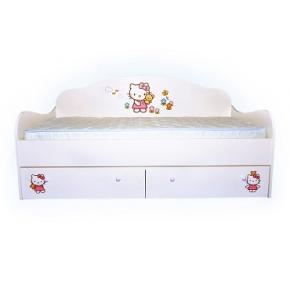 Кроватка диванчик Китти 80х160 ДСП