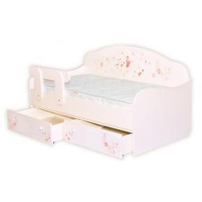 Кроватка диванчик Балерина 80х160 ДСП