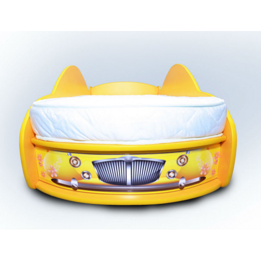 Кровать машина Жук 80х170 ДСП - изображение 2 - интернет-магазин tricolor.com.ua