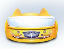 Кровать машина Жук 70х150 ДСП - изображение 2 - интернет-магазин tricolor.com.ua