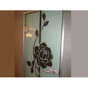 Дверь алюминиевой коробке 1 - изображение 2 - интернет-магазин tricolor.com.ua