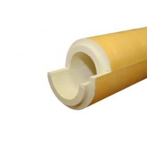 Полуцилиндр теплоизоляционный ППУ пергамин 426/40