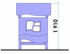 Купить Детский домик DEL003 - 6