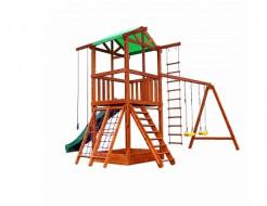 Деревянный игровой комплекс Babyland-3 - изображение 9 - интернет-магазин tricolor.com.ua
