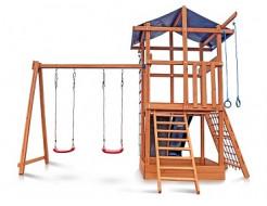 Деревянный игровой комплекс Babyland-3 - изображение 7 - интернет-магазин tricolor.com.ua