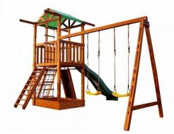Деревянный игровой комплекс Babyland-3 - изображение 3 - интернет-магазин tricolor.com.ua
