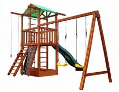 Игровой комплекс для дачи Babyland-6 - изображение 2 - интернет-магазин tricolor.com.ua