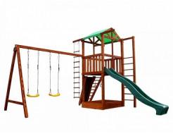 Игровой комплекс для дачи Babyland-6 - изображение 6 - интернет-магазин tricolor.com.ua