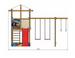 Детская площадка SportBaby-8 - изображение 5 - интернет-магазин tricolor.com.ua