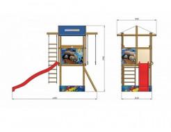 Детская площадка SportBaby-7 - изображение 2 - интернет-магазин tricolor.com.ua
