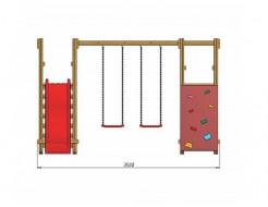 Детская игровая площадка SportBaby-5 - изображение 2 - интернет-магазин tricolor.com.ua