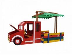 Песочница - Пожарная машина-17 - изображение 2 - интернет-магазин tricolor.com.ua
