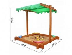 Детская песочница Sahara - изображение 8 - интернет-магазин tricolor.com.ua