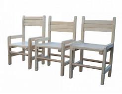 Купить Детский стульчик растущий сосна 24-28-32 Kinder-1 - 6