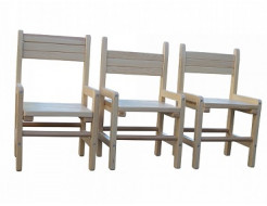Купить Детский стульчик растущий сосна 24-28-32 Kinder-1 - 7