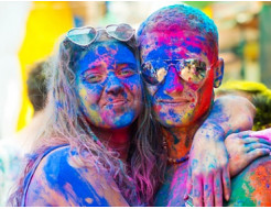 Краска Холи синяя - изображение 2 - интернет-магазин tricolor.com.ua