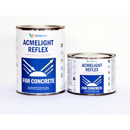 Краска светоотражающая для бетона купить цементный раствор и их применение