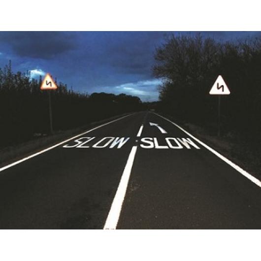 Краска светоотражающая AcmeLight Road для дорожной разметки белая