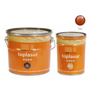 Лазурь для дерева Spot Colour Toplasur №9 тик