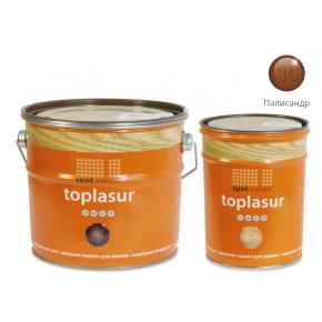 Лазурь для дерева Spot Colour Toplasur №10 палисандр