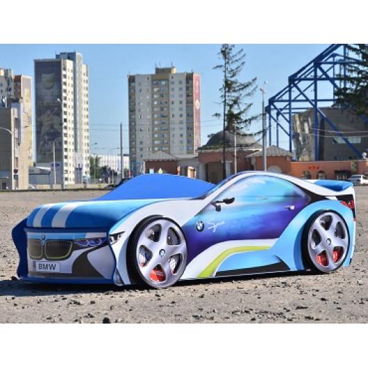 Кровать машина BMW space круиз 80х180 с подъемным механизмом - интернет-магазин tricolor.com.ua