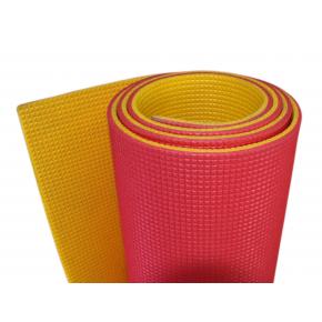 Коврик-каремат Izolon Optima Plus 180х60 желто-красный