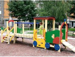 Купить Паровозик с вагоном ТЕ503 - 32
